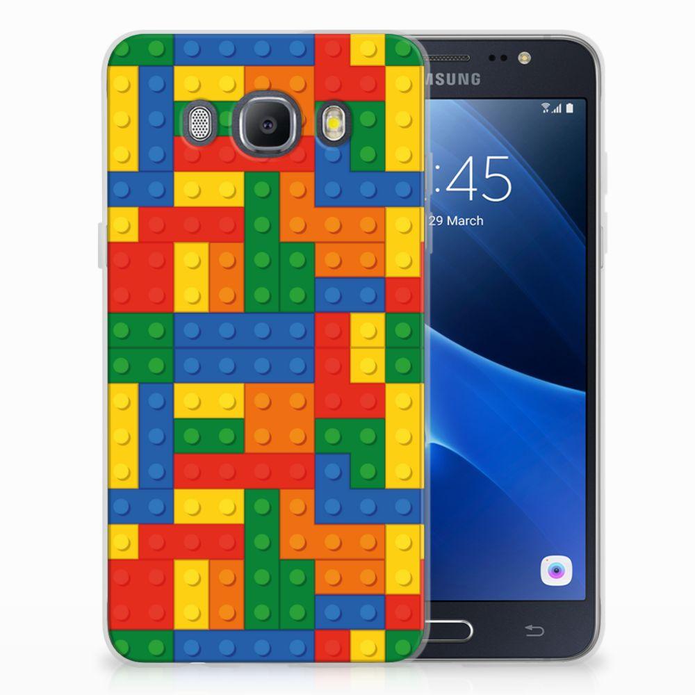 Samsung Galaxy J5 2016 TPU Hoesje Design Blokken