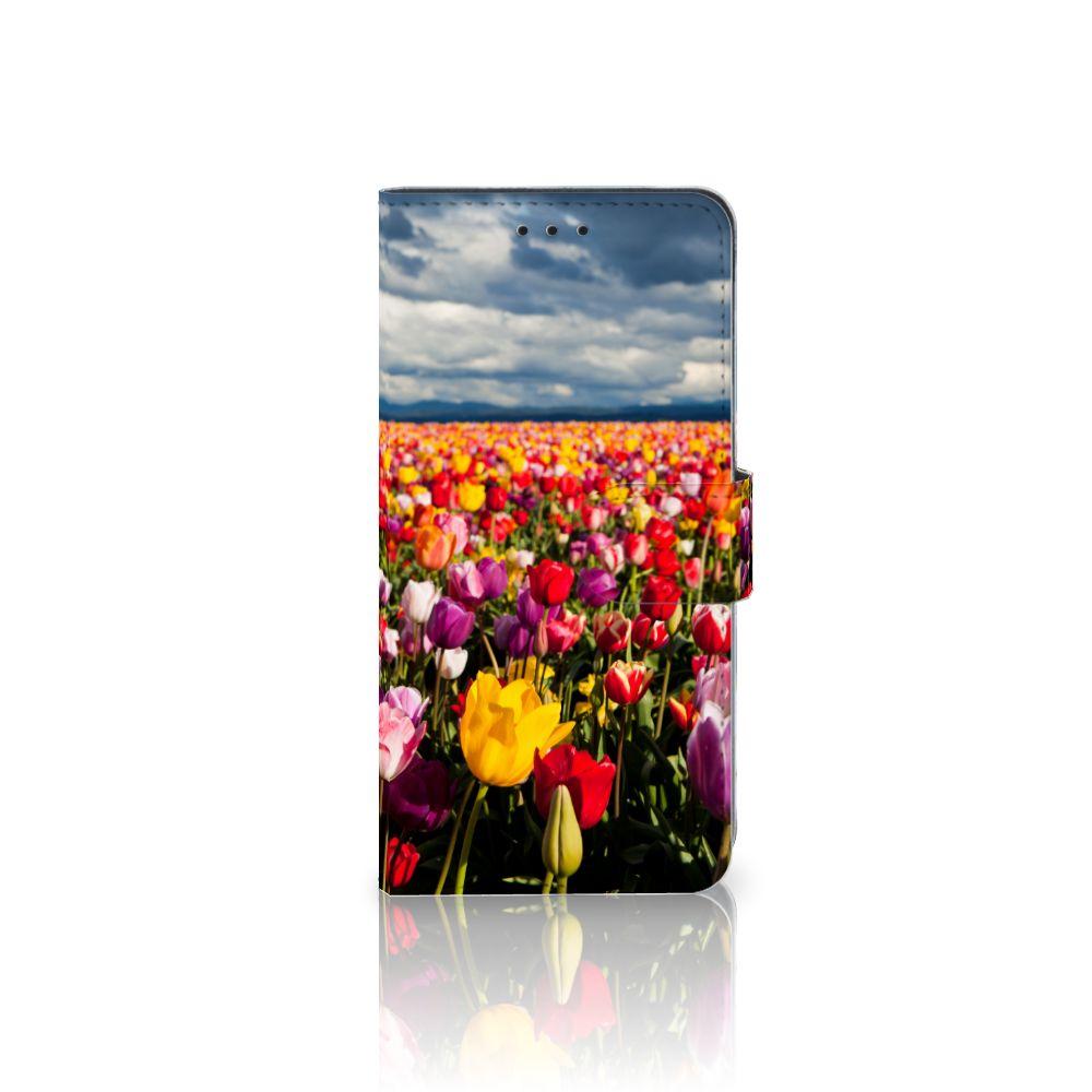 Huawei Mate 10 Pro Uniek Boekhoesje Tulpen