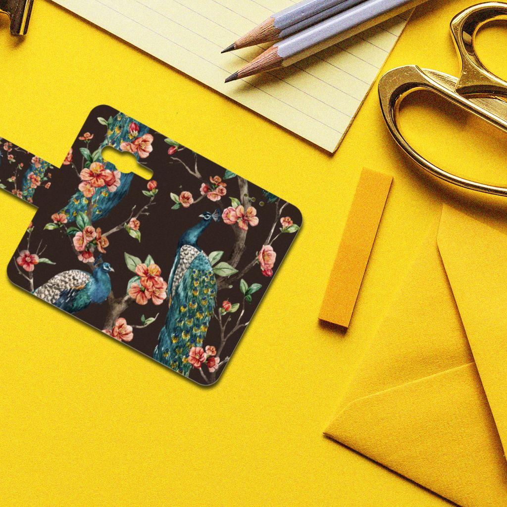 Samsung Galaxy Trend 2 Boekhoesje Design Pauw met Bloemen
