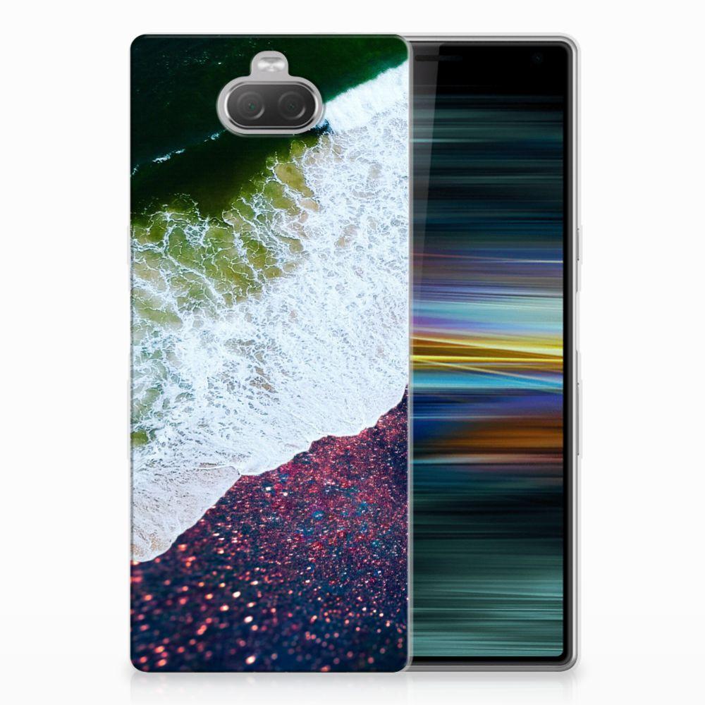 Sony Xperia 10 Plus TPU Hoesje Sea in Space