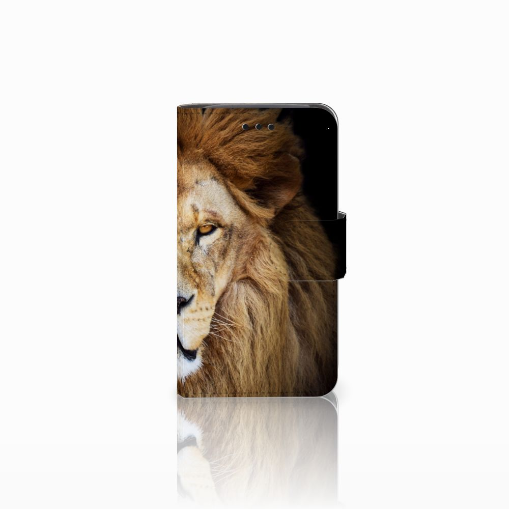 Samsung Galaxy Core i8260 Boekhoesje Design Leeuw