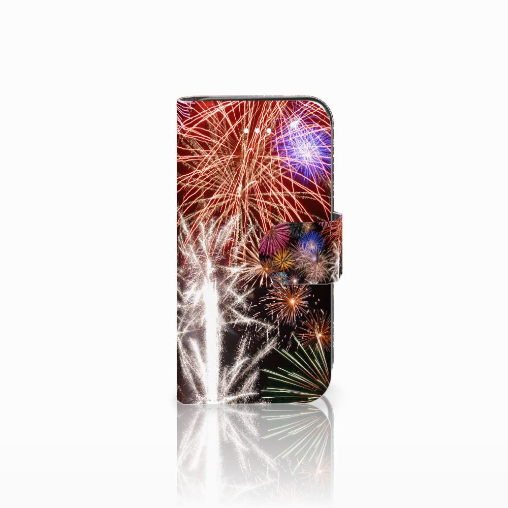 Apple iPhone 5   5s   SE Boekhoesje Design Vuurwerk