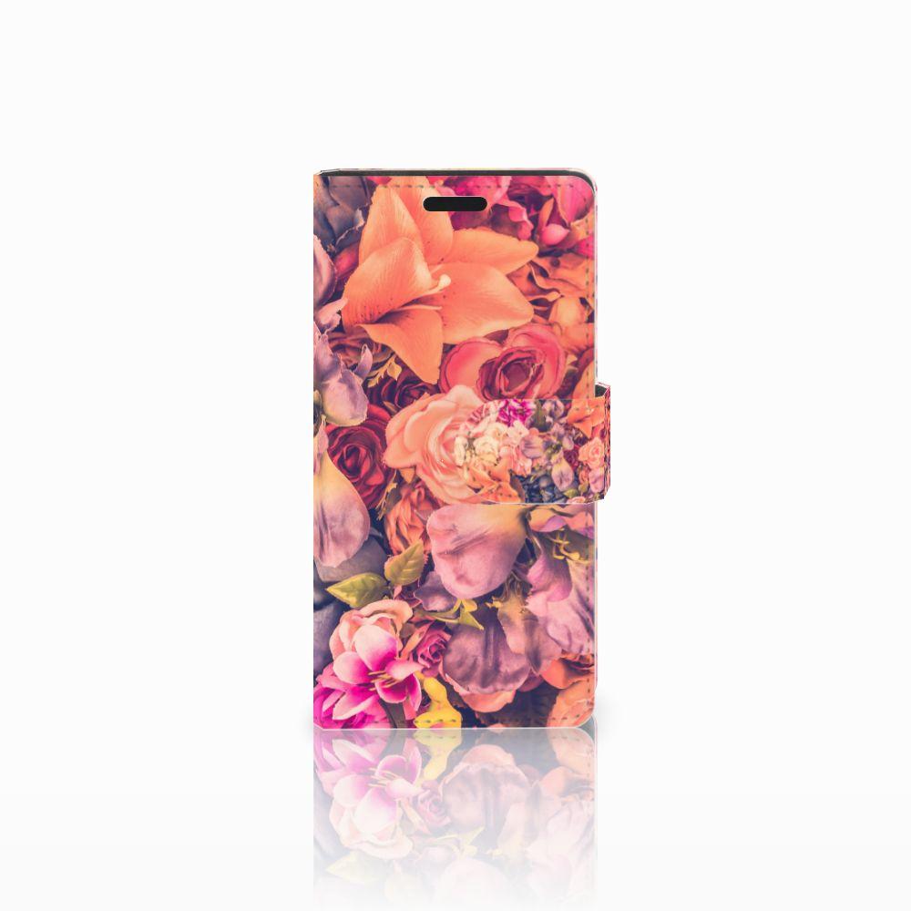 LG Leon 4G Boekhoesje Design Bosje Bloemen