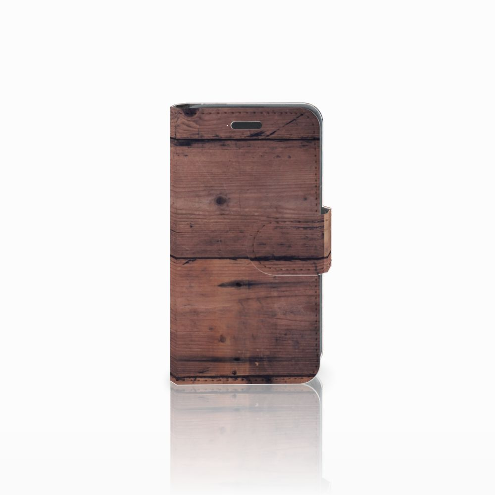 Nokia Lumia 520 Book Style Case Old Wood