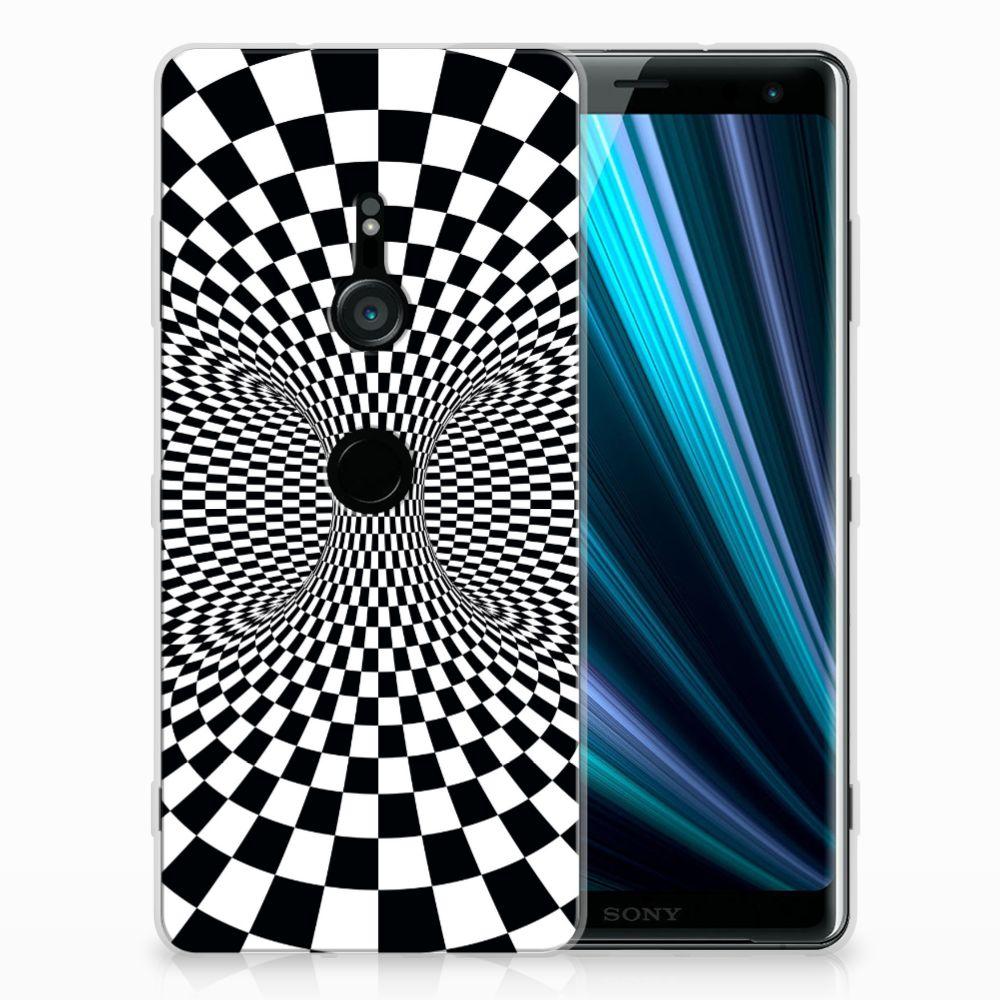 Sony Xperia XZ3 TPU Hoesje Design Illusie