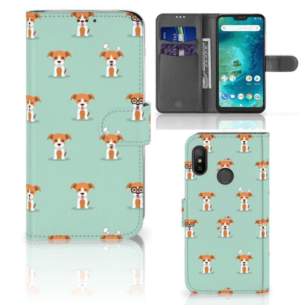 Xiaomi Mi A2 Lite Telefoonhoesje met Pasjes Pups