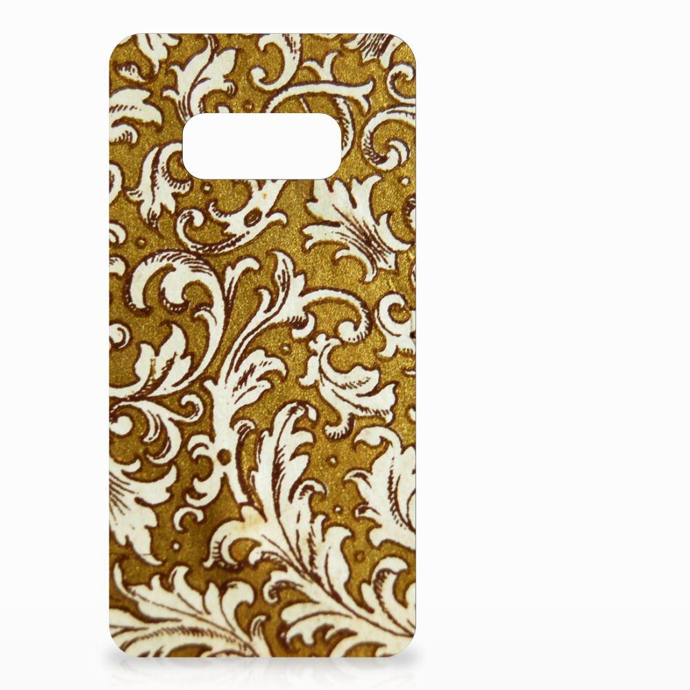 Samsung Galaxy S10e TPU Hoesje Design Barok Goud