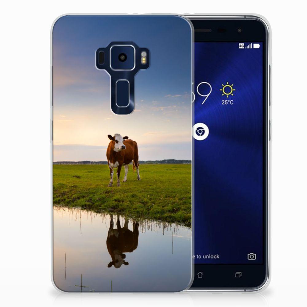 ASUS Zenfone 3 TPU Hoesje Design Koe