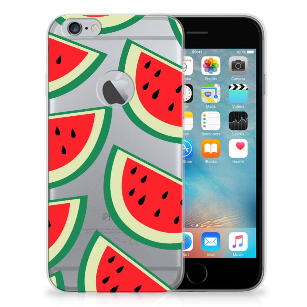 Apple iPhone 6 Plus   6s Plus Siliconen Case Watermelons