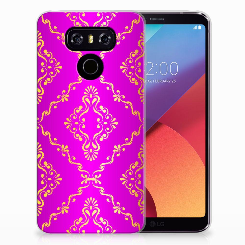 Siliconen Hoesje LG G6 Barok Roze