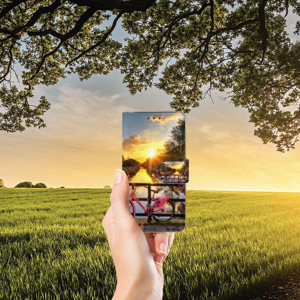 Samsung Galaxy J5 (2015) Uniek Boekhoesje Amsterdamse Grachten