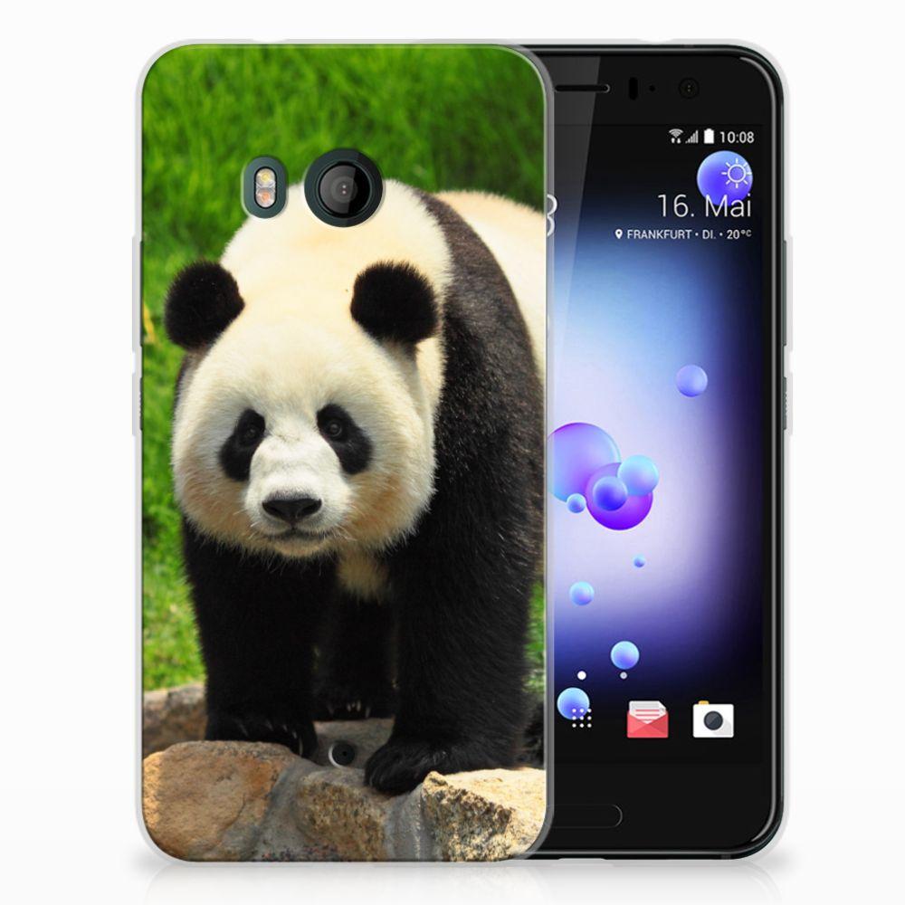 HTC U11 TPU Hoesje Panda