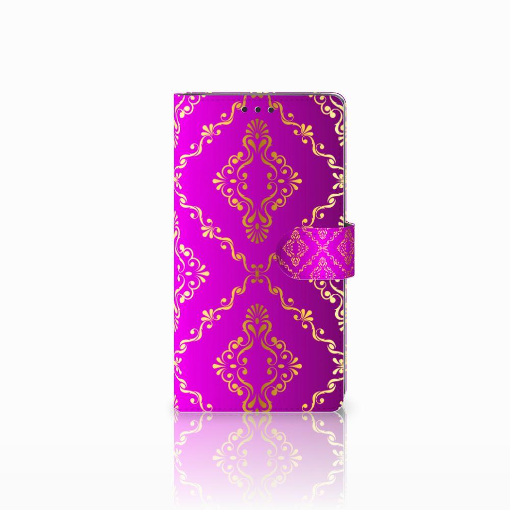 Wallet Case Sony Xperia XA2 Ultra Barok Roze