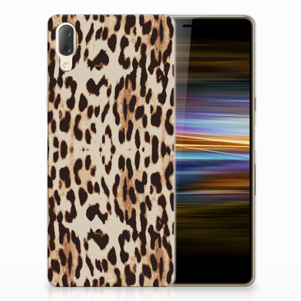 Sony Xperia L3 TPU Hoesje Leopard