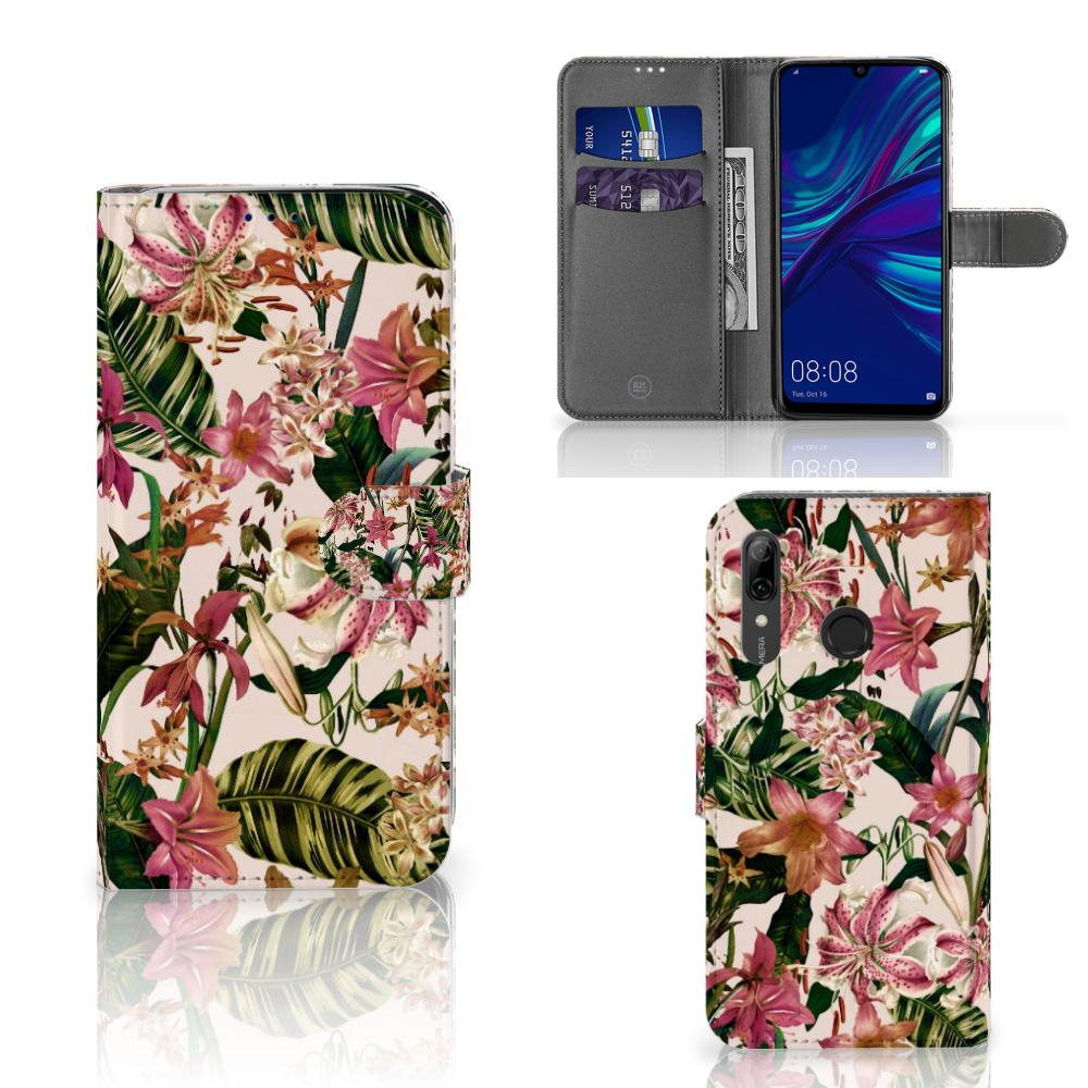 Huawei P Smart Plus (2019) Hoesje Flowers