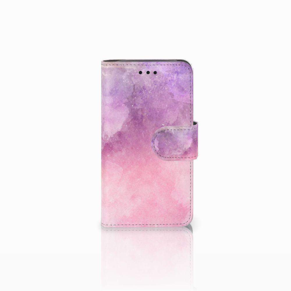 Hoesje Samsung Galaxy Core i8260 Pink Purple Paint