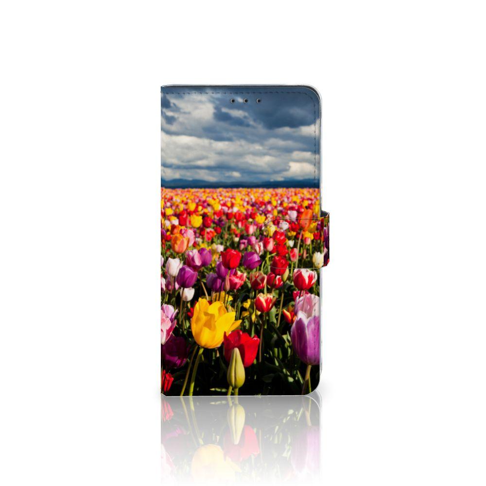 Samsung Galaxy A8 Plus (2018) Hoesje Tulpen