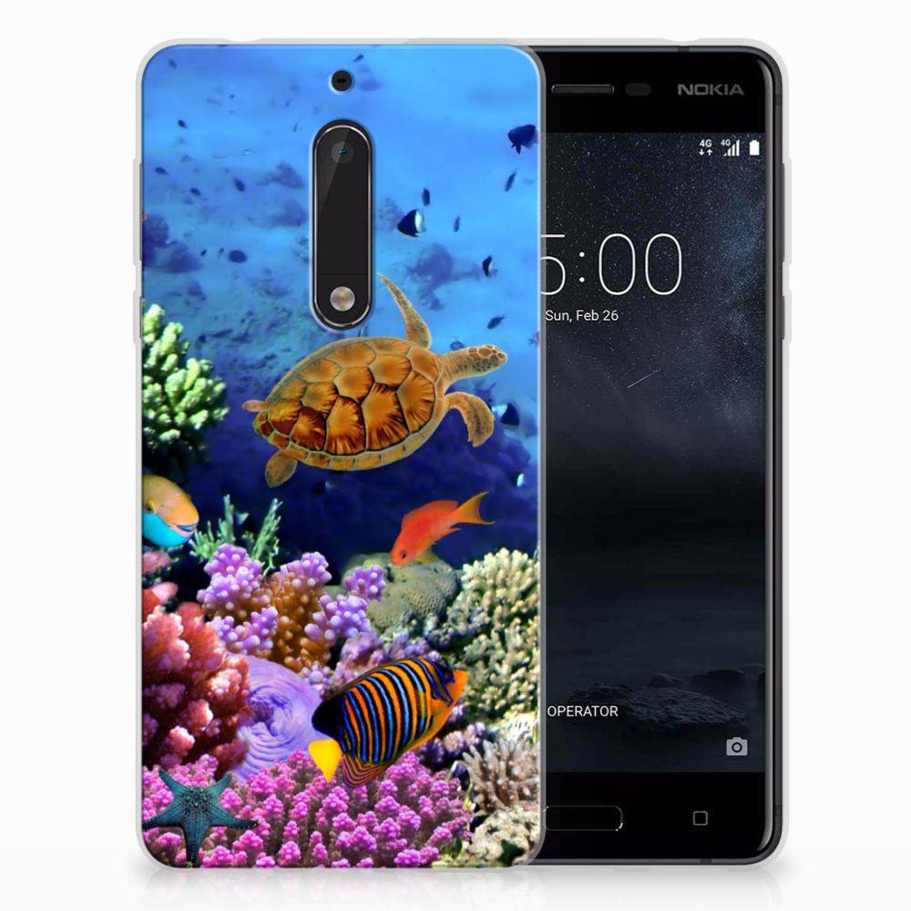 Nokia 5 TPU Hoesje Vissen