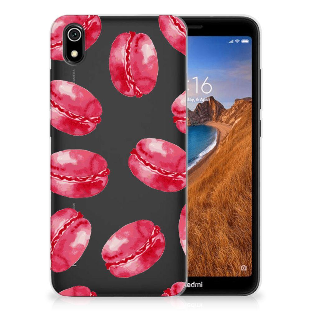 Xiaomi Redmi 7A Siliconen Case Pink Macarons