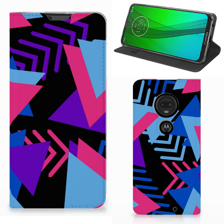 Motorola Moto G7 | G7 Plus Stand Case Funky Triangle