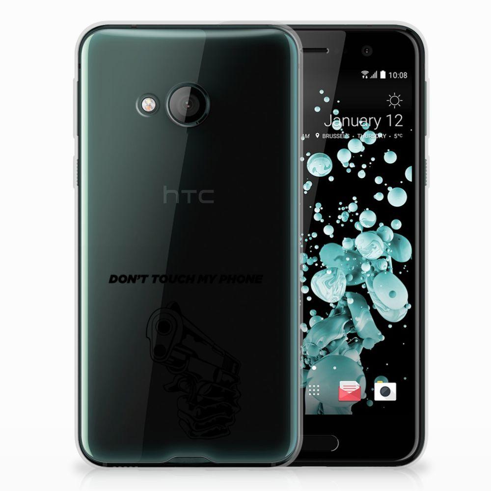 HTC U Play Uniek TPU Hoesje Gun DTMP