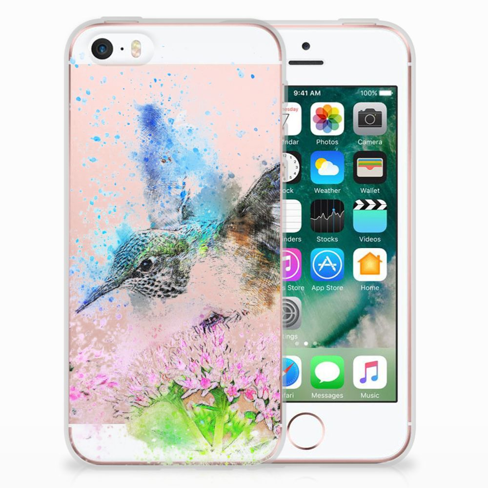 Apple iPhone SE | 5S TPU Hoesje Design Vogel