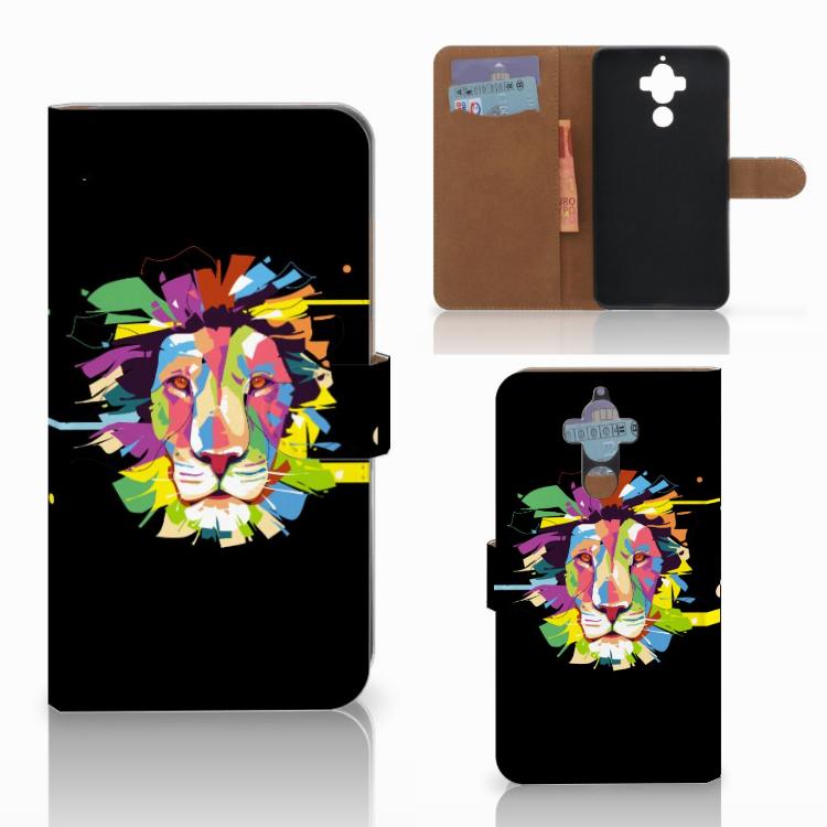 Huawei Mate 9 Leuk Hoesje Lion Color