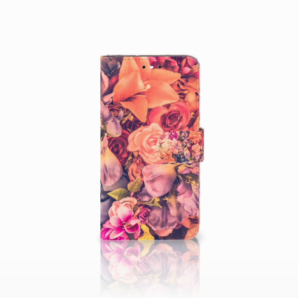 Motorola Moto G4 | G4 Plus Boekhoesje Design Bosje Bloemen