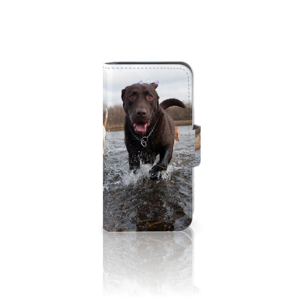 Apple iPhone 4   4S Telefoonhoesje met Pasjes Honden Labrador