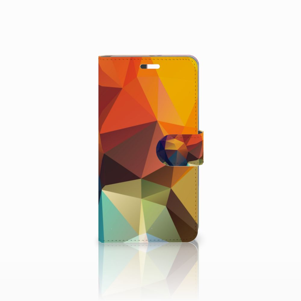 Huawei P9 Plus Boekhoesje Design Polygon Color