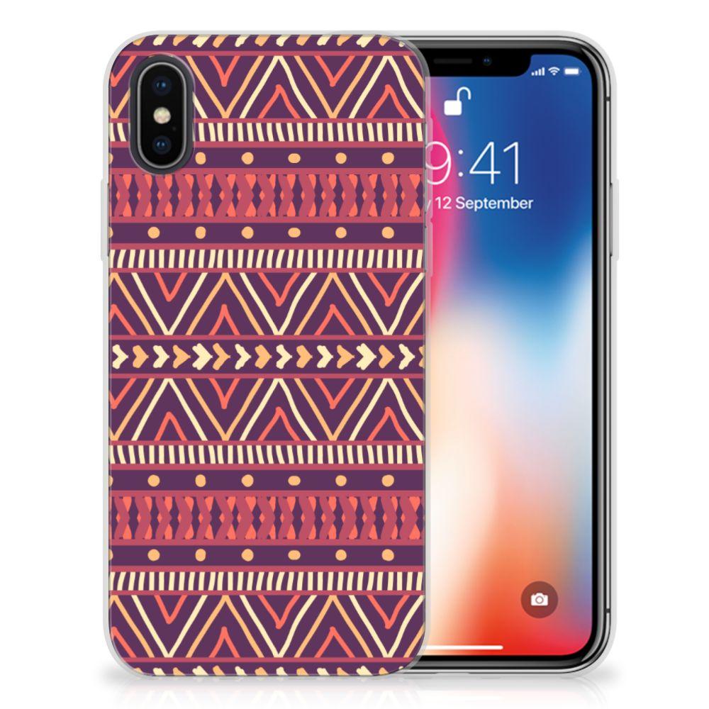 Apple iPhone X | Xs TPU bumper Aztec Paars
