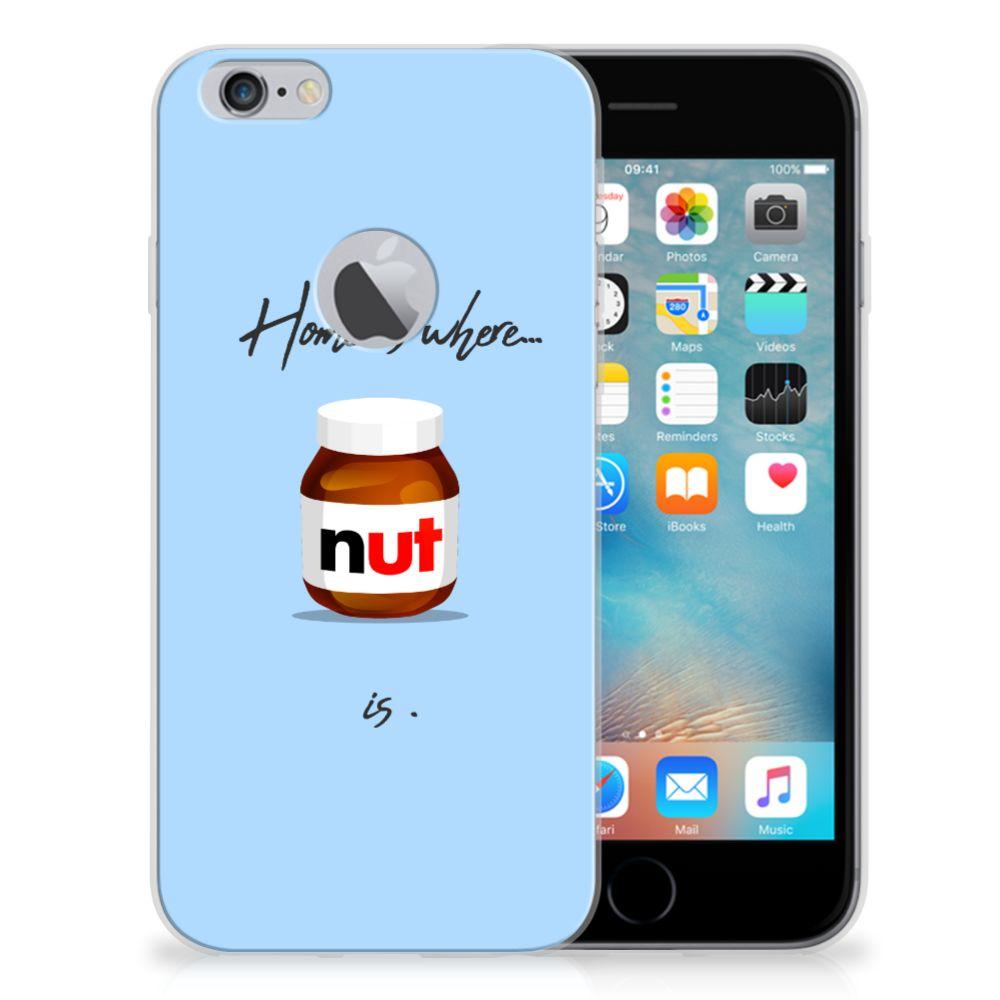 Apple iPhone 6 Plus   6s Plus Siliconen Case Nut Home