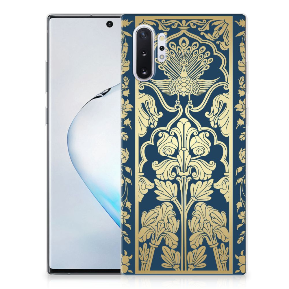 Samsung Galaxy Note 10 Plus TPU Case Golden Flowers