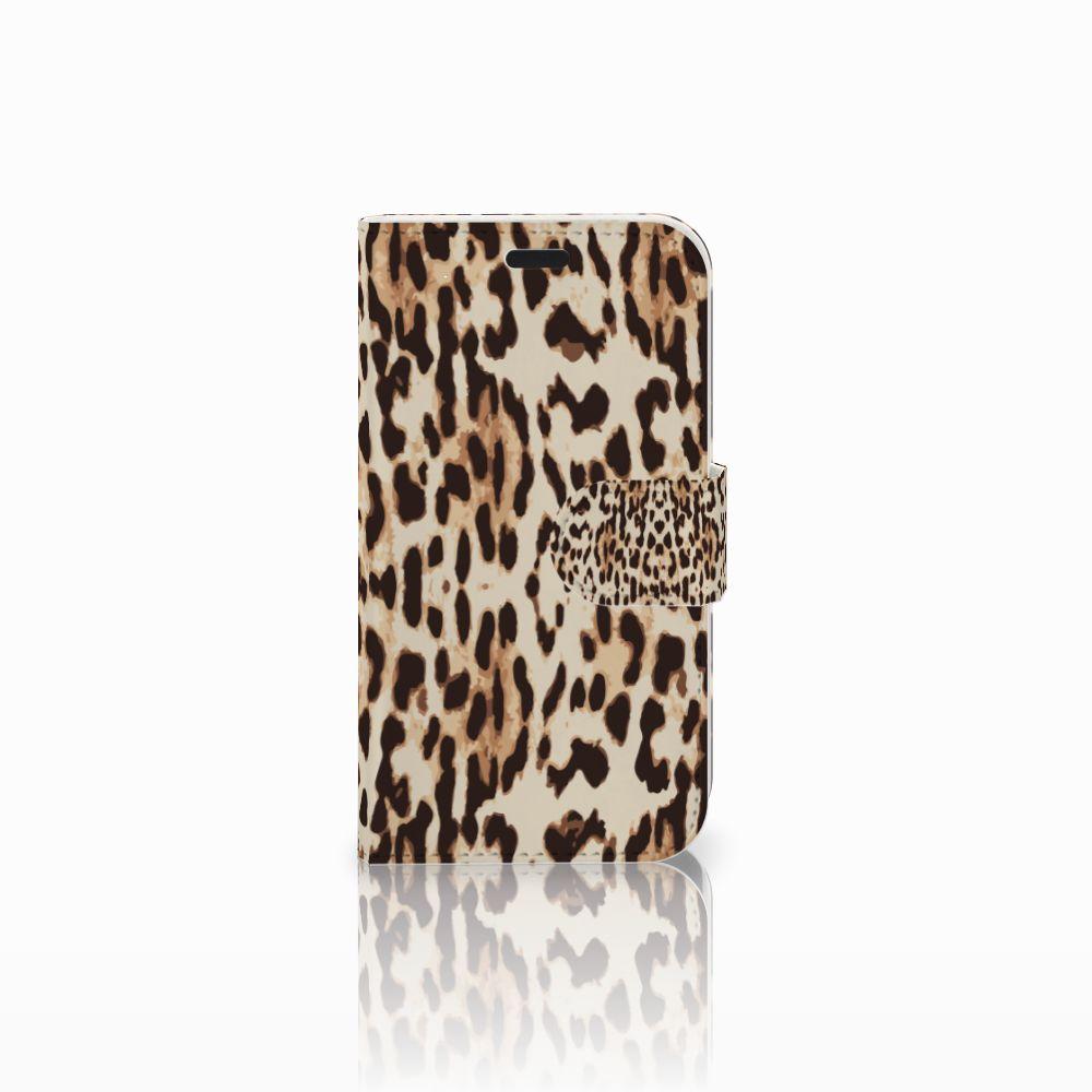 LG L Fino Uniek Boekhoesje Leopard