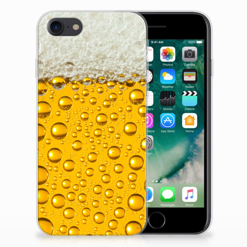 Apple iPhone 7 | 8 Siliconen Case Bier