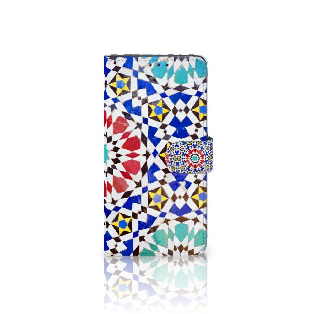 Samsung Galaxy A8 Plus (2018) Boekhoesje Design Mozaïek