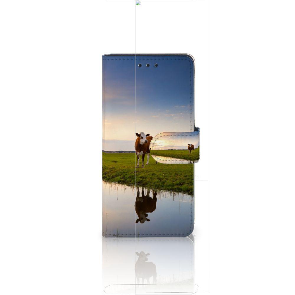 Huawei Ascend P8 Lite Boekhoesje Design Koe