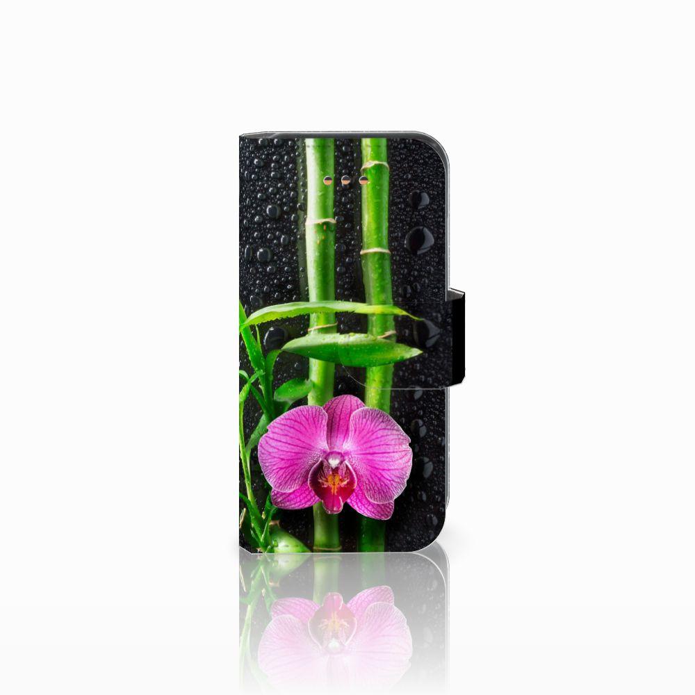 Apple iPhone 5C Boekhoesje Design Orchidee