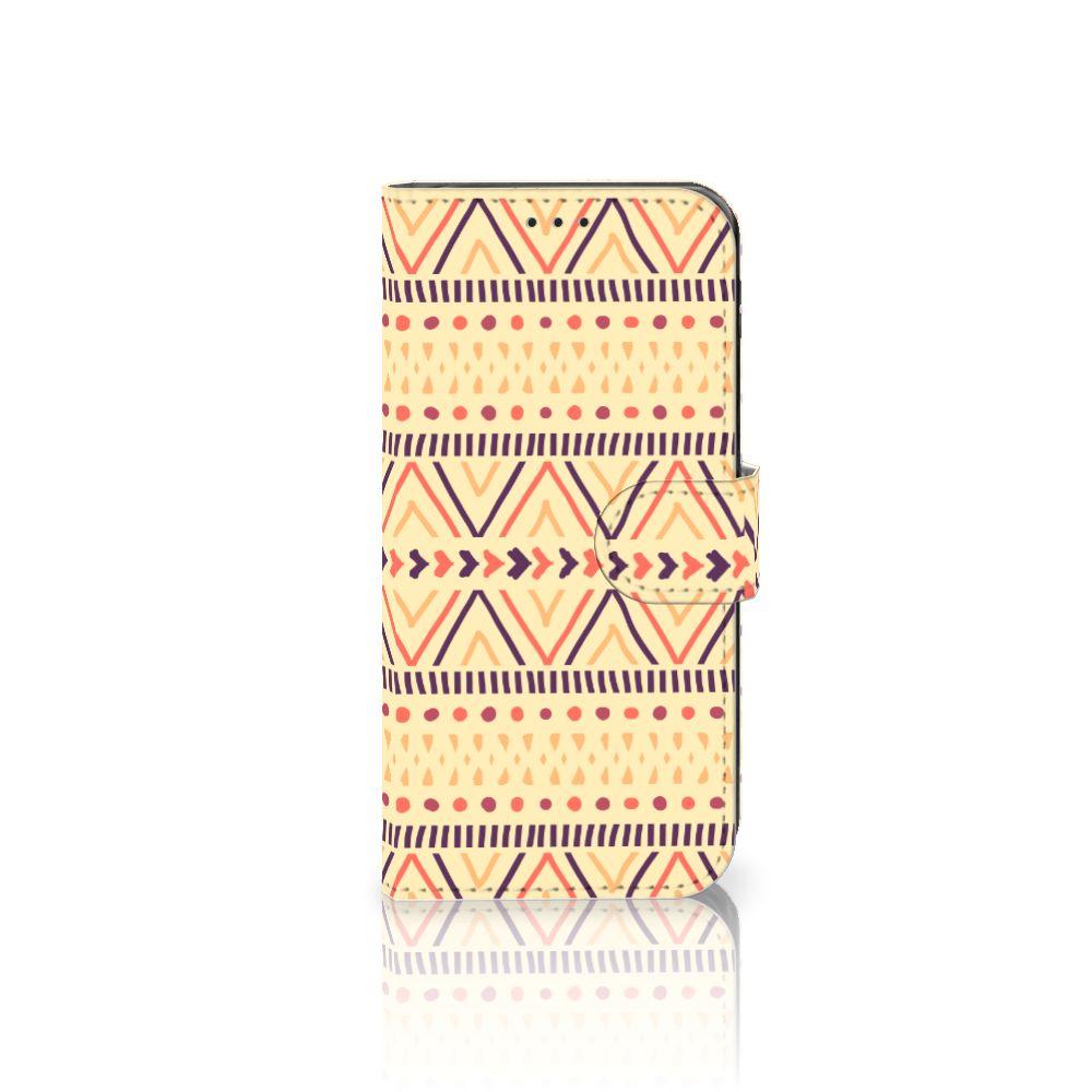 Samsung Galaxy J5 2017 Telefoon Hoesje Aztec Yellow