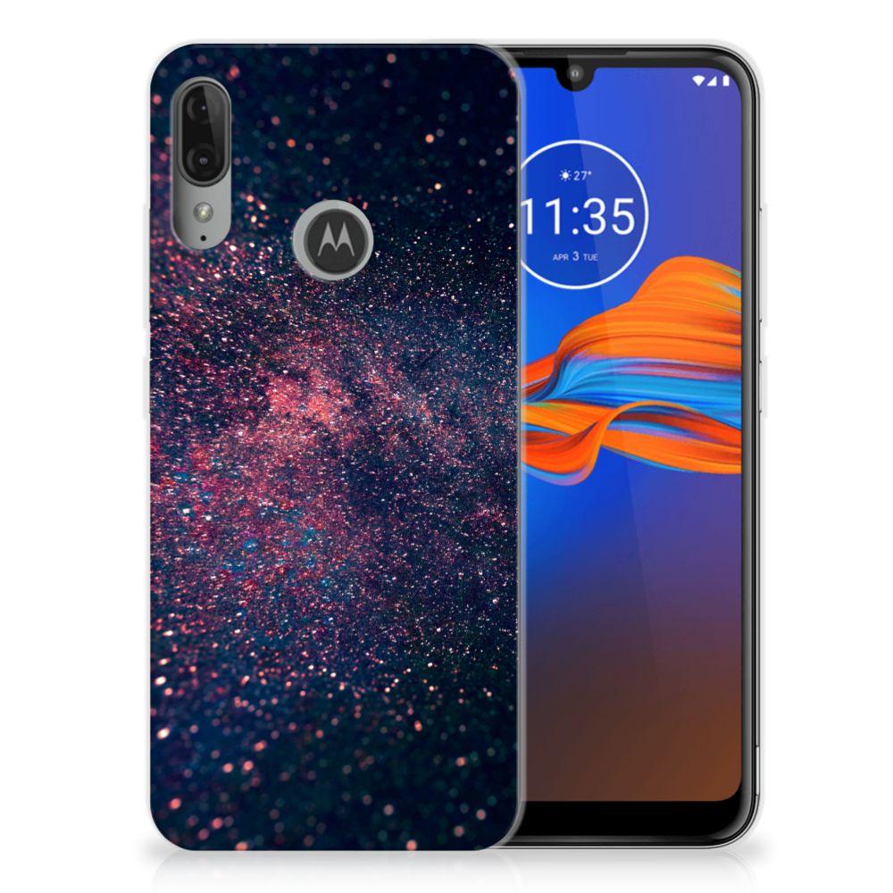 Motorola Moto E6 Plus TPU Hoesje Stars