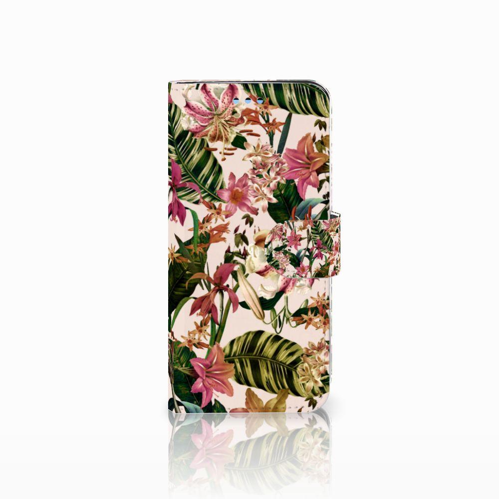 Samsung Galaxy S9 Uniek Boekhoesje Flowers
