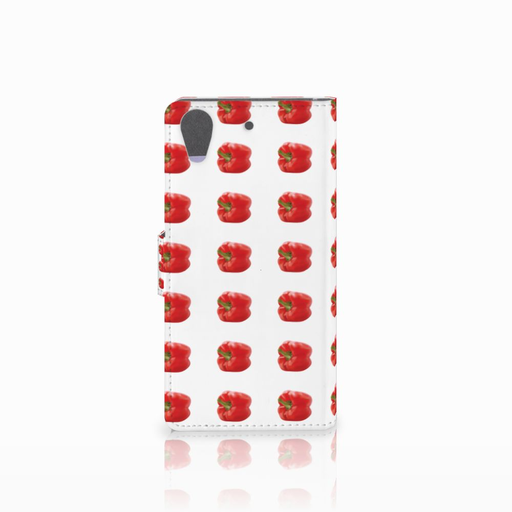 HTC Desire 626 | Desire 626s Book Cover Paprika Red