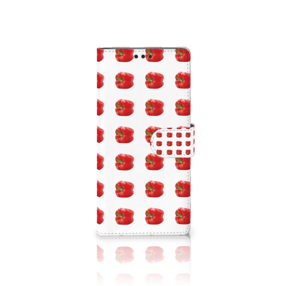 Sony Xperia XA Ultra Boekhoesje Design Paprika Red