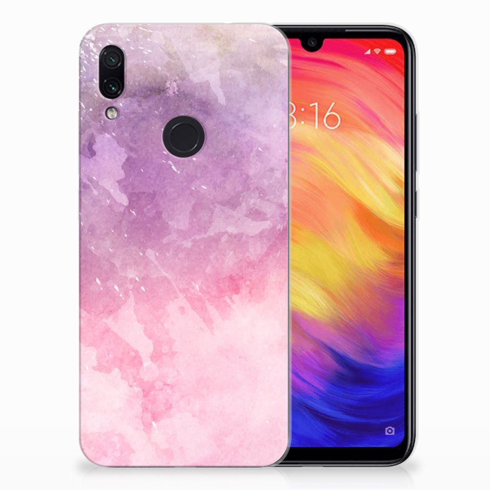 Hoesje maken Xiaomi Redmi Note 7 Pink Purple Paint