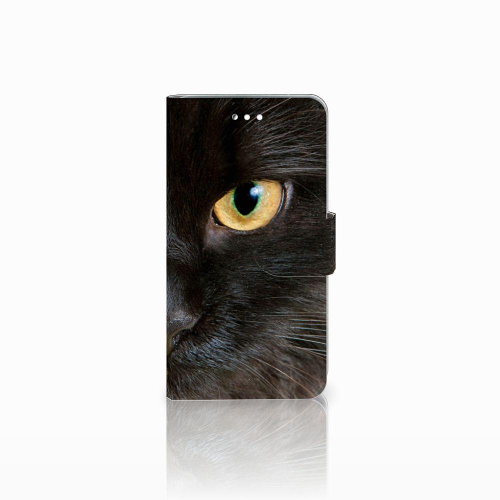 Wiko Harry Uniek Boekhoesje Zwarte Kat