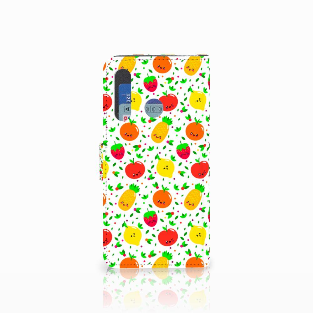 Huawei Nova 4 Book Cover Fruits