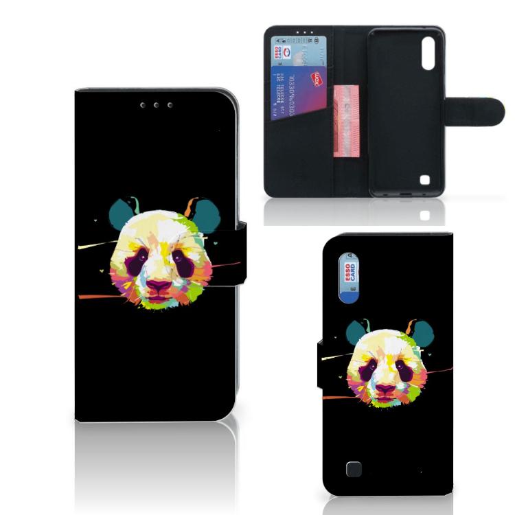 Samsung Galaxy M10 Leuk Hoesje Panda Color