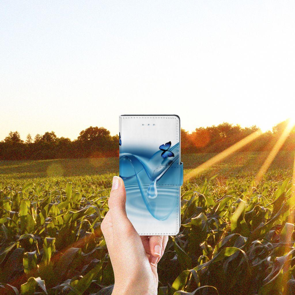 LG Nexus 5X Telefoonhoesje met Pasjes Vlinders