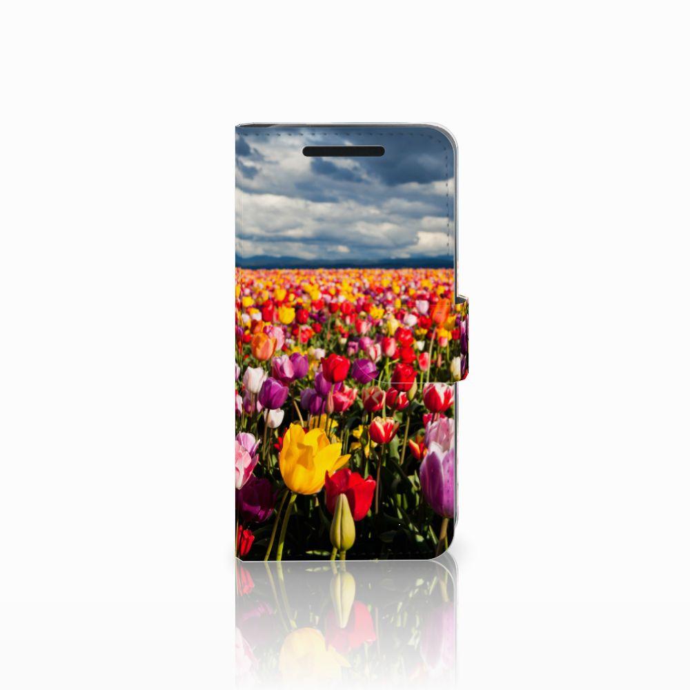 HTC One M9 Uniek Boekhoesje Tulpen