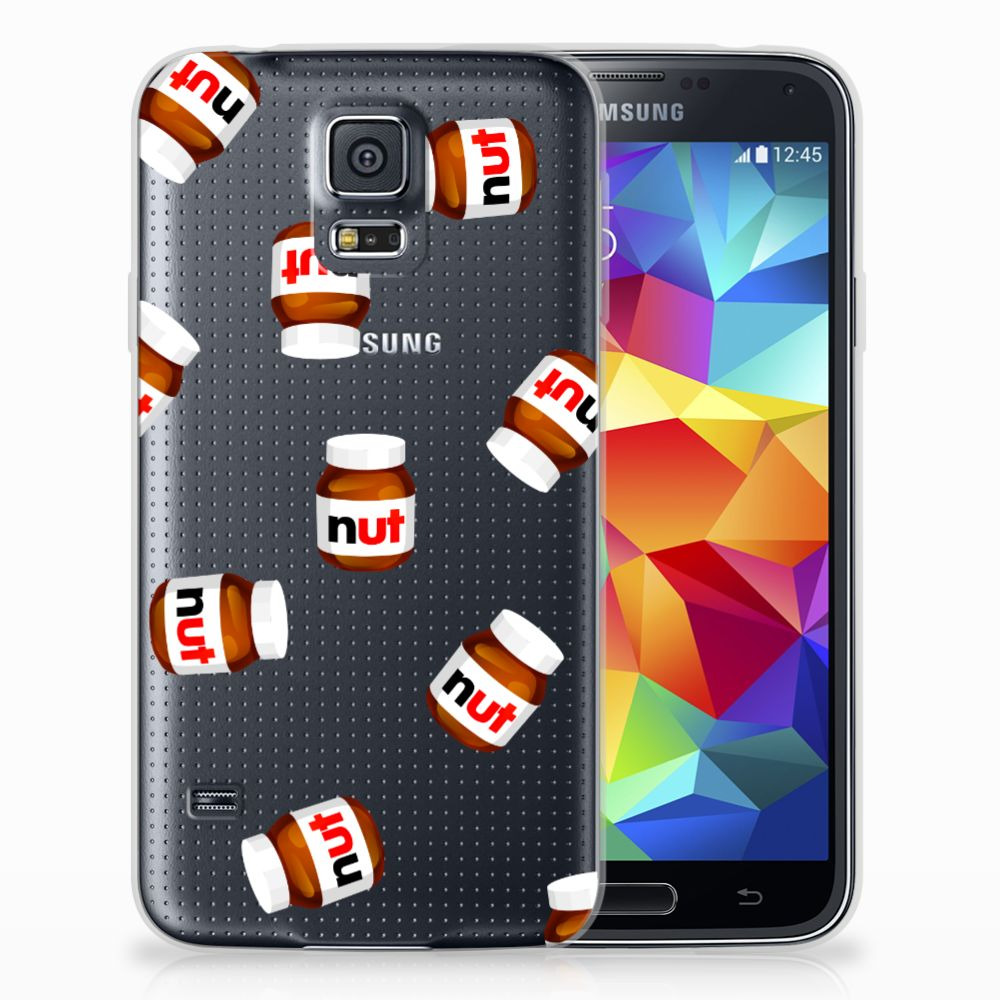 Samsung Galaxy S5 Siliconen Case Nut Jar